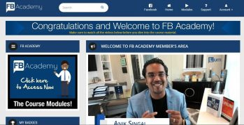 Anik Singal – FB Academy – Value $697