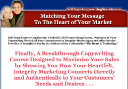 Soft Topic Copywriting Secrets Home Study Course – Value $697