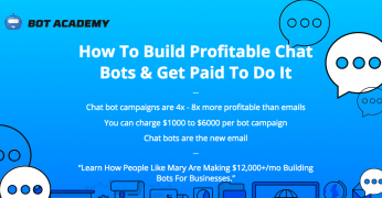 Andrew Warner – Bot Academy – Value $2000