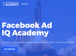 Maxwell Finn – Facebook Ad IQ Academy – Value $997