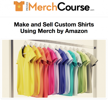 Proven Merch Course
