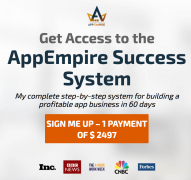Chad Mureta – AppEmpire Success System – Value $2497
