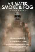 Animated Smoke and Fog Photoshop Action