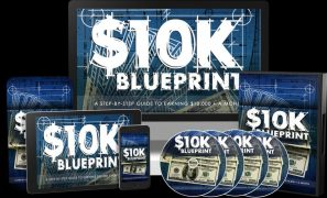 PLRsalesfunnels – 10K Blueprint PLR Package FE + Upsell – Value $37