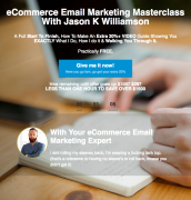 Jason K Williamson – eCommerce Email Marketing Masterclass – Value $297