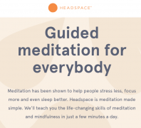 Headspace – Guided Meditations v2 – Value $419.95