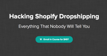 Hayden Bowles – Hacking Shopify Dropshipping – Value $497
