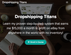 Paul Joseph – Dropshipping Titans – Value $247