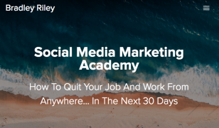 Bradley Riley – Social Media Marketing Academy – Value £497