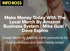 Mike Gual & Dave Espino – Local Merch Course – Value $197