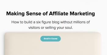 Michelle Schroeder-Gardner – Making Sense of Affiliate Marketing – Value $197
