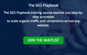 Robbie Richards – The SEO Playbook
