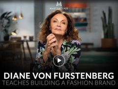 Diane von Furstenberg – Teaches Building a Fashion Brand