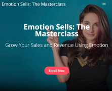 Talia Wolf – Emotion Sells The Masterclass – Value $1997
