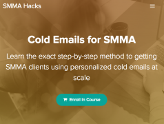 Nick Kenens – Cold Emails for SMMA – Value $197