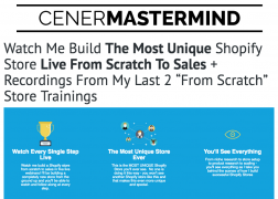 Justin Cener – Shopify Live Success Training – Value $297