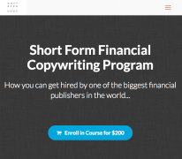 Jake Hoffberg – Short Form Financial Copywriting Program – Value $200