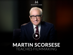 Martin Scorsese – Teaches Film making