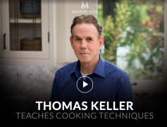 Thomas Keller – Teaches Cooking Techniques