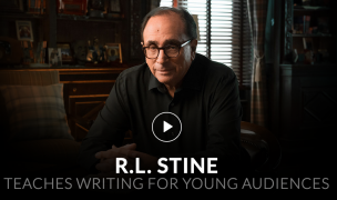 R.L. Stine – Teaches Writing for Young Audiences