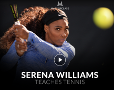 Serena Williams – Teaches Tennis