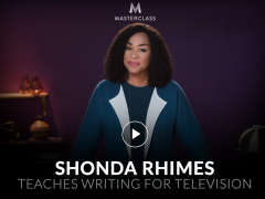 Shonda Rhimes – Teaches Writing for Television