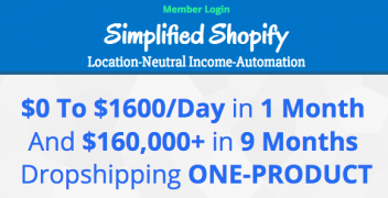 Scott Hilse – Simplified Shopify Dropshipping – Value $297