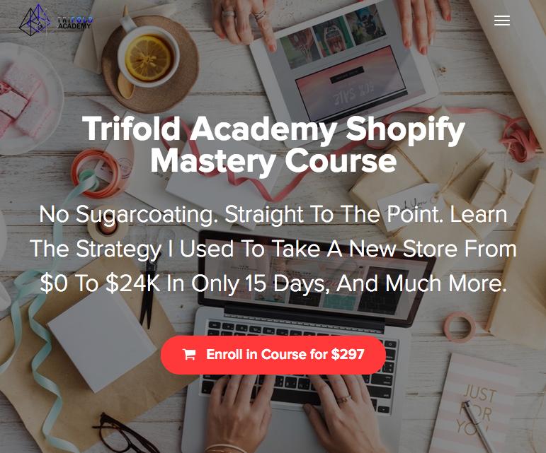 iMWarriorTools.com   Free Download   Art Hernandez – Trifold Academy Shopify Mastery Course ...