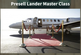 Greg Davis – Presell Lander Masterclass – Value $997