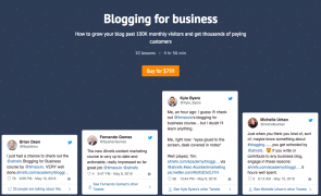 Tim Soulo From Ahrefs – Blogging For Business – Value $799
