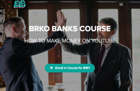 BRKO BANKS COURSE: HOW TO MAKE MONEY ON YOUTUBE