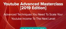 [GB] Youtube Advanced Masterclass 2019 – Over $50k Per Month From Youtube