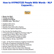 How to HYPNOTIZE People With Words – NLP Copywriti…- Value $1,587