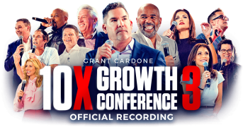 Grant Cardone – 10X Growth Conference 3 – Value $297