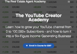 Graham Stephan – The YouTube Creator Academy – Value $397