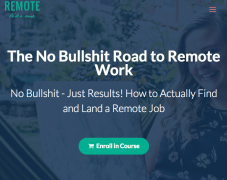 Taylor Lane – The No Bullshit Road to Remote Work – Value $397
