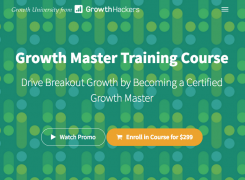 Sean Ellis – Growth Master Training Course – Value $299