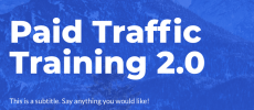 [GB] Maxwell Finn – Paid Traffic Training 2.0