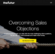 Chris Do (The Futur) – Overcoming Sales Objections – Value $499
