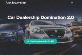 [GB] Alex Lytvynchuk – Car Dealership 2.0