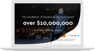 Tim Burd – $10,000,000 Landing Pages – Value $797