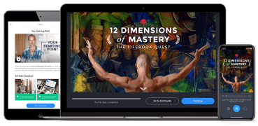 Mindvalley – 12 Dimensions of Mastery – Value $500