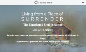 Michael Singer – Living From a Place of Surrender – Value $197