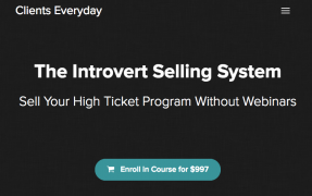 Kevin Hutto – The Introvert Selling System
