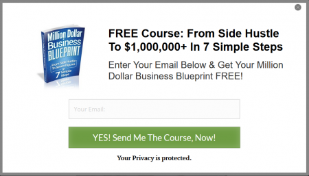 MILLION DOLLARBUSINESS BLUEPRINT COURSE