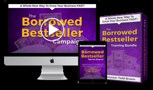 Todd Brown – Borrowed Best Seller – Value $49