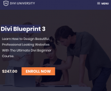 Divi University – Divi Blueprint 3 – Value $247