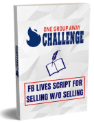 Alex Elliot – One Group Away Challenge – Value $479
