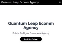 Kai Bax – Quantum Leap Ecomm Agency – Value $497