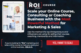 Scott Oldford – The R.O.I Method Course